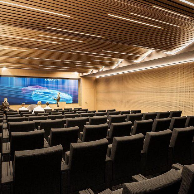 Auditorium Plastic Omnium Vue 3D