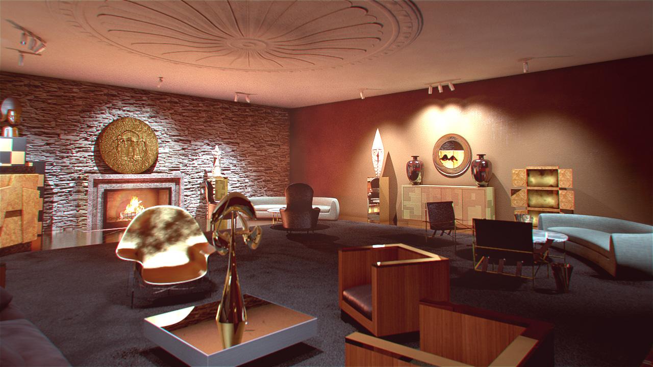 Architecture intérieure | Événementiel | PACO RABANNE 3D