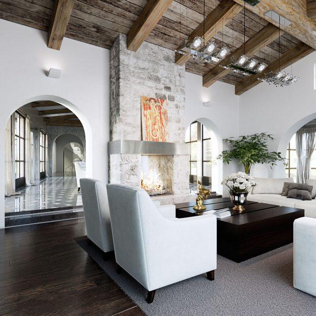 Image 3d photoréaliste architecture de prestige